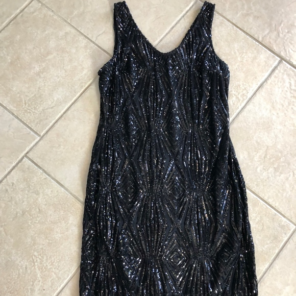 b0ce6be573 JULIA JORDAN MACRAME DRESS SIZE 10, WORN ONCE